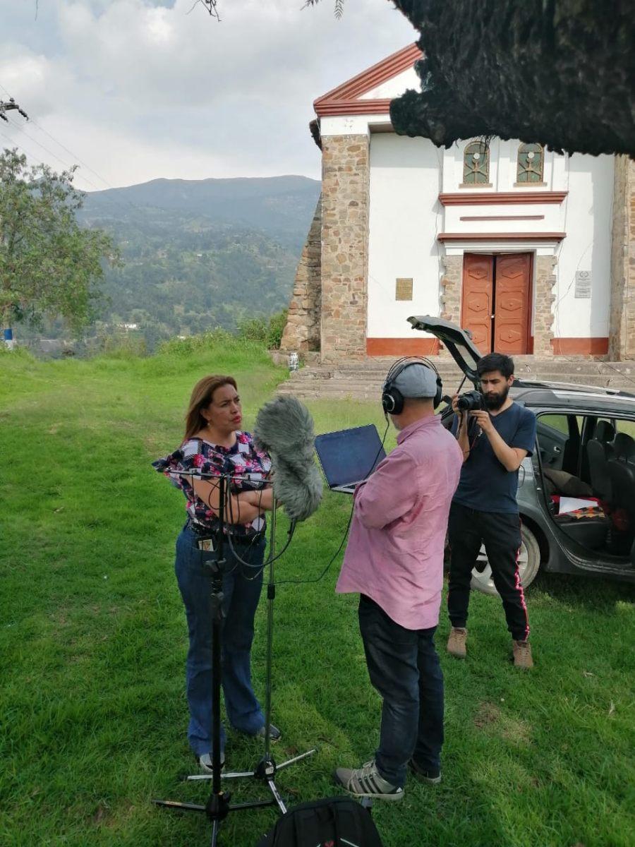 Entrevista a Milena Torres, iglesia Socha Viejo, municipio de Socha Boyacá