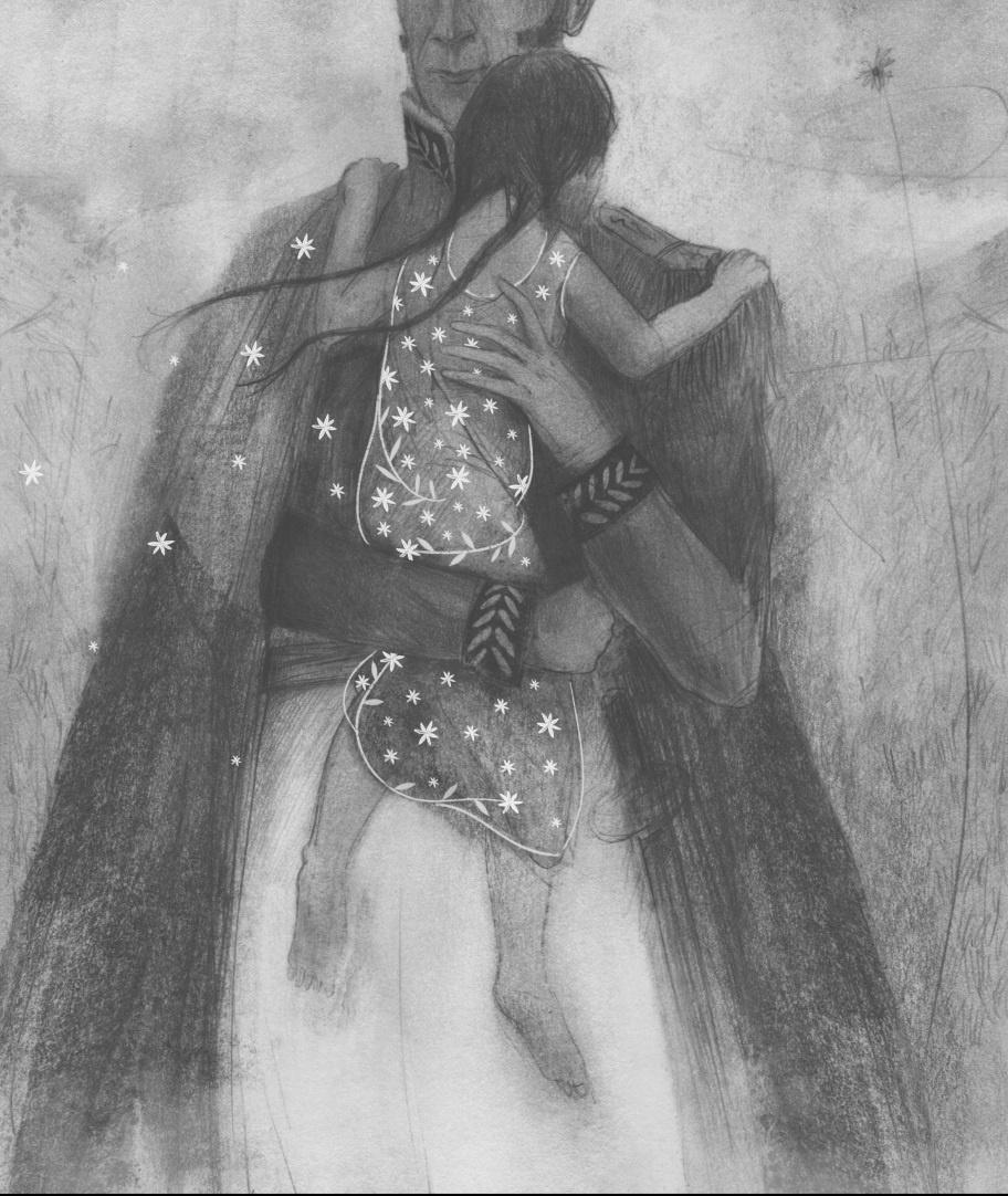 Matilde Anaray /lápiz de grafito y retoque digital/ Ilustración Geison Castañeda